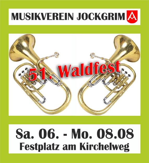 Waldfest 2016 Musikverein 2016